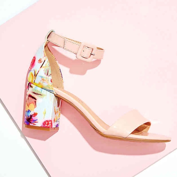 82ed4590201 Floral Jody Block Heel Sandal